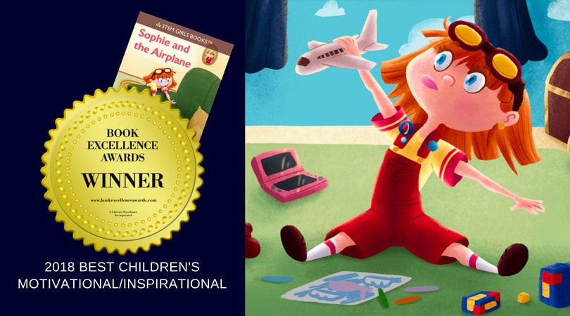 Book Excellence Award: STEM Girls Books Sophie and the Airplane